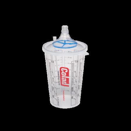 Sistem aplicat vopseaua Snap Lid System® Colad 50 pahare + 50 filtre1