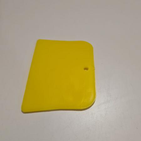 Placa pentru amestecat chit din plastic, Evercoat® 100155, mixare materiale, usor de curatat, dimensiune 30 cm x 30 cm [1]