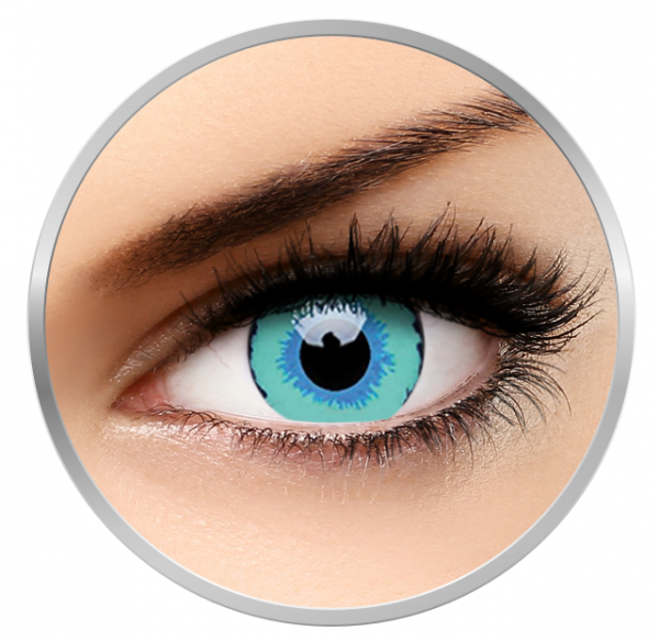 Phantasee Fancy The Dexus - Blue Contact Lenses yearly - 360 wears (2 lenses/box)