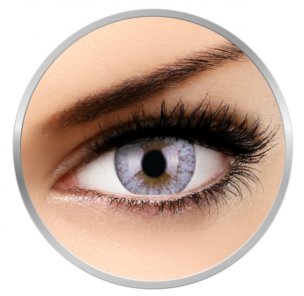 ColourVUE Cheerful Creamy White - White Contact Lenses monthly - 30 wears (2 lenses/box)