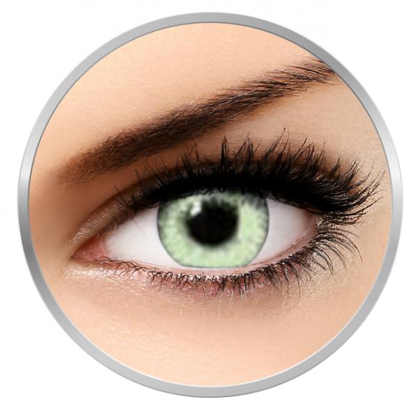 Soleko Queen's Twins Light Green - Green Contact Lenses monthly - 30 wears (2 lenses/box)