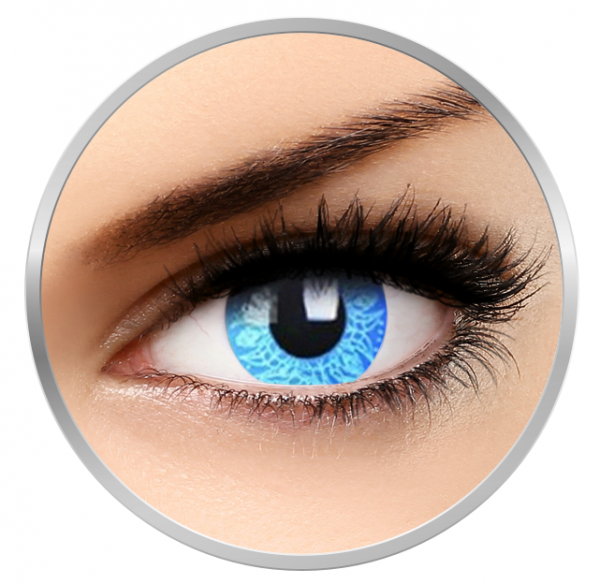 Phantasee Fancy Blue Artist - Blue Contact Lenses yearly - 360 wears (2 lenses/box)