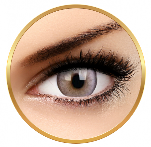 ColourVUE Lumina Glowing Grey - Grey Contact Lenses quarterly - 90 wears (2 lenses/box)