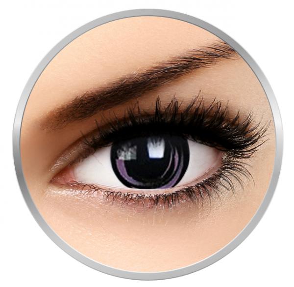 Phantasee Fancy Pink Galaxy - Pink/Black Contact Lenses yearly - 360 wears (2 lenses/box)