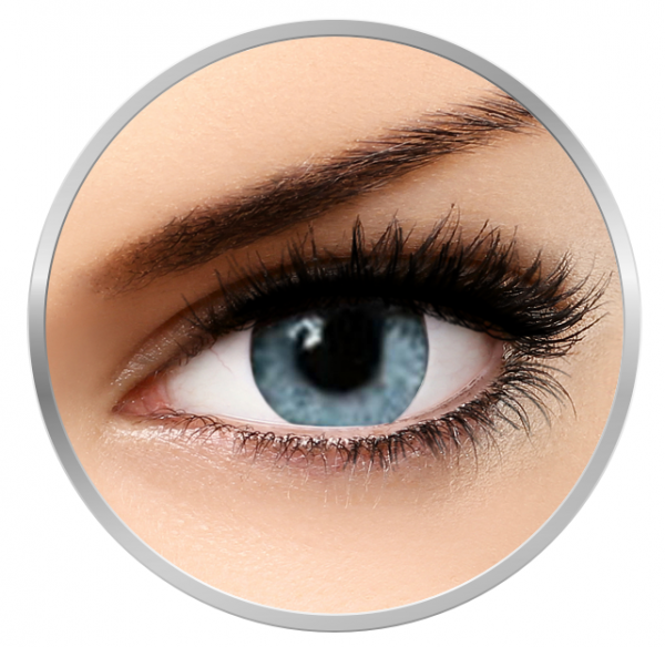 Soleko Queen's Twins Light Blue - Blue Contact Lenses monthly- 30 wears (2 lenses/box)