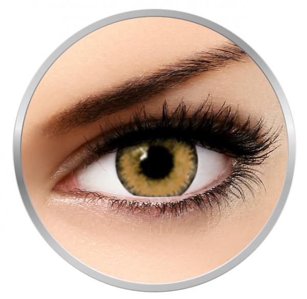 Soleko Queen's Trilogy Choco - Brown Contact Lenses monthly- 30 wears (2 lenses/box)