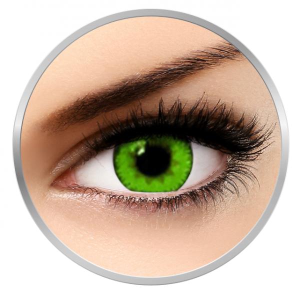 Soleko Queen's Trilogy Dark Green - Green Contact Lenses monthly - 30 wears (2 lenses/box)