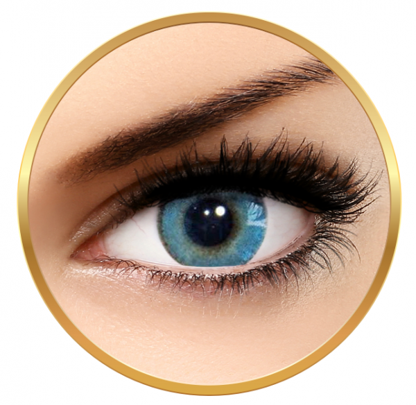 Solotica Natural Colors Azul - Blue Contact Lenses yearly - 365 wears (2 lenses/box)