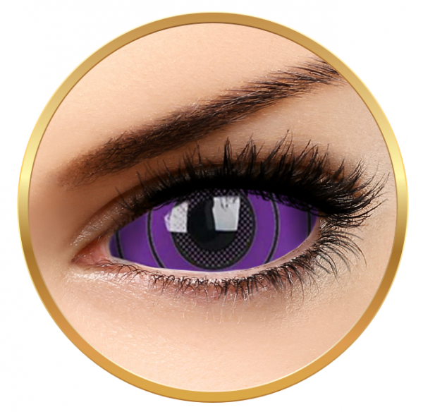 ColourVUE Sclera Colossus - Purple Contact Lenses yearly - 185 wears (2 lenses/box)