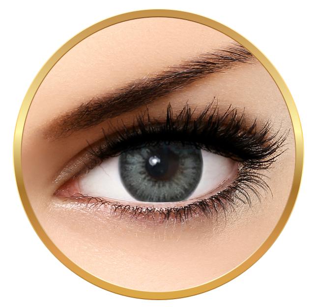 Bella Diamonds Collection Gray Green - Grey Green Contact Lenses Quarterly - 90 wears (2 lenses/box)