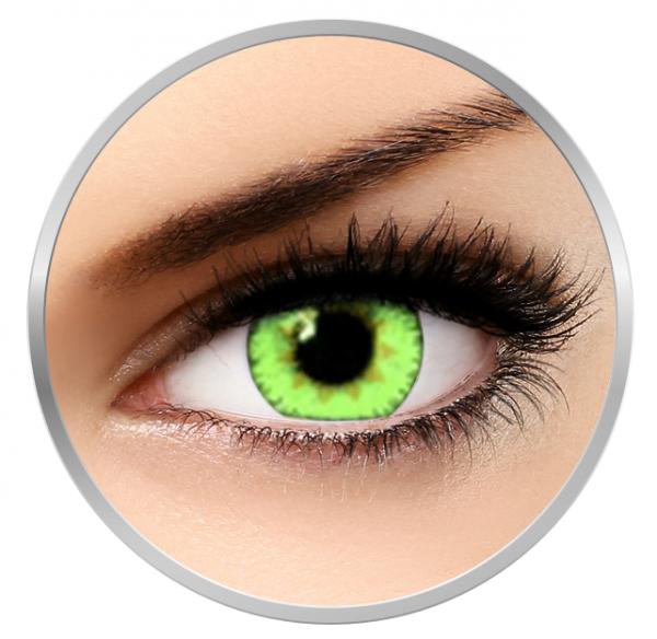 Soleko Queen's Trilogy Light Green - Green Contact Lenses monthly - 30 wears (2 lenses/box)