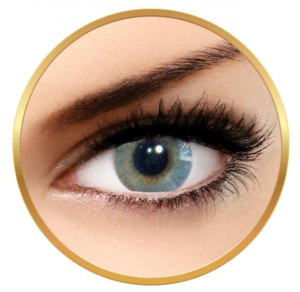 Solotica Hidrocor Grafite - Grey Contact Lenses yearly- 365 wears (2 lenses/box)
