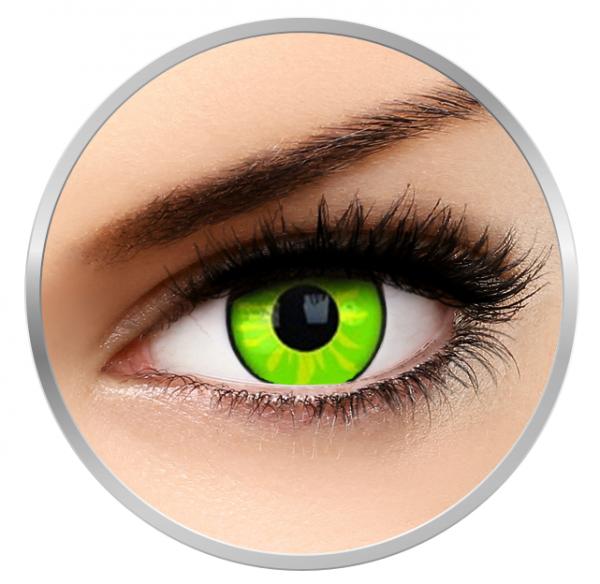 Phantasee Fancy Rogue - Green Contact Lenses yearly - 360 wears (2 lenses/box)