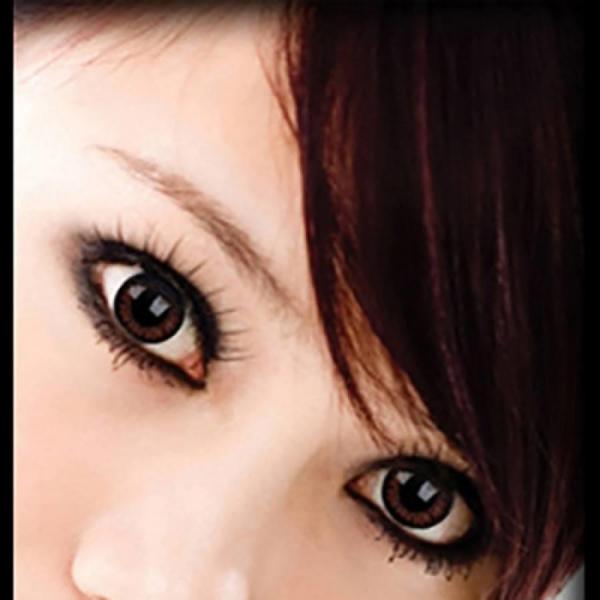 ColourVUE Big Eyes Pretty Hazel - Hazel Contact Lenses quarterly - 90 wears (2 lenses/box)