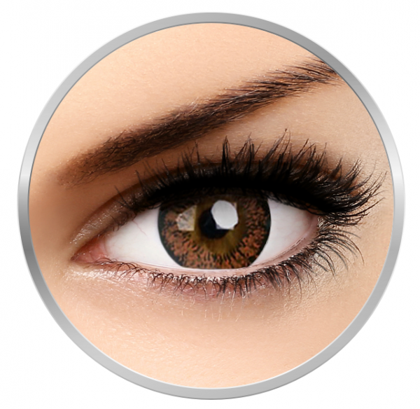 Phantasee Lovely Eyes Angel Hazel - Hazel Contact Lenses monthly - 30 wears (2 lenses/box)