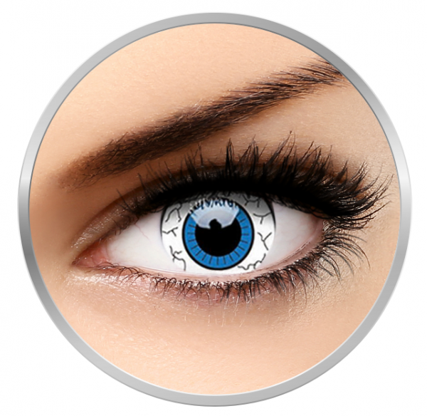Phantasee Fancy Comic Eye - White Contact Lenses yearly - 360 wears (2 lenses/box)