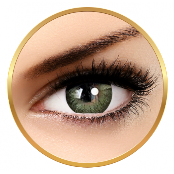 Adore Dare Yellow - colored contact lenses on a quarterly basis - 90 wears (2 lenses / box)