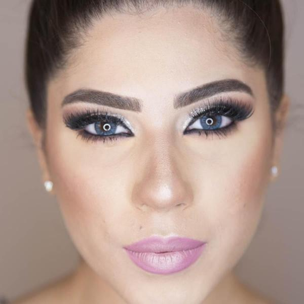 Adore Crystal Blue - colored contact lenses on a quarterly basis - 90 wears (2 lenses / box)
