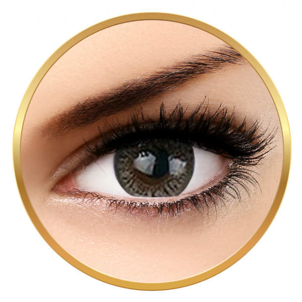 Adore Crystal Grey - colored contact lenses on a quarterly basis - 90 wears (2 lenses / box)
