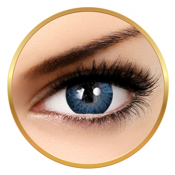Adore Dare Blue - colored contact lenses on a quarterly basis - 90 wears (2 lenses / box)