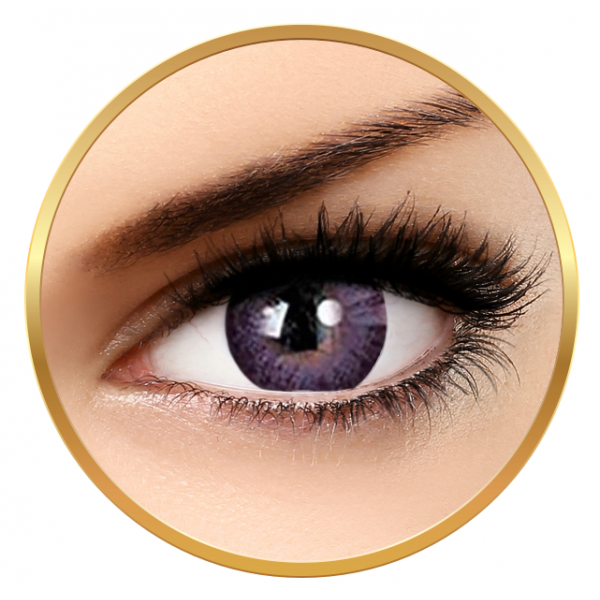 Adore Dare Violet - colored contact lenses on a quarterly basis - 90 wears (2 lenses / box)