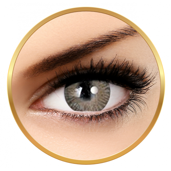 Adore Tri Tone Light Grey - colored contact lenses on a quarterly basis - 90 wears (2 lenses / box)