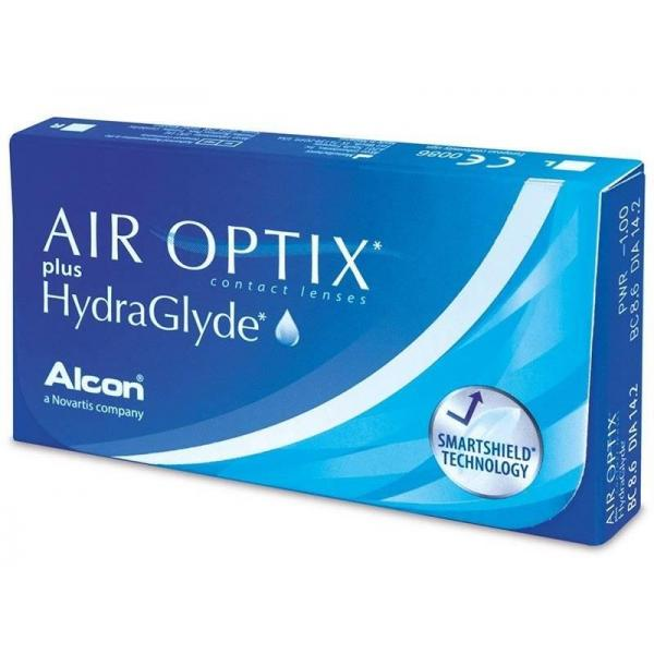 Alcon / Ciba Vision Air Optix plus HydraGlyde 6 lenses / box