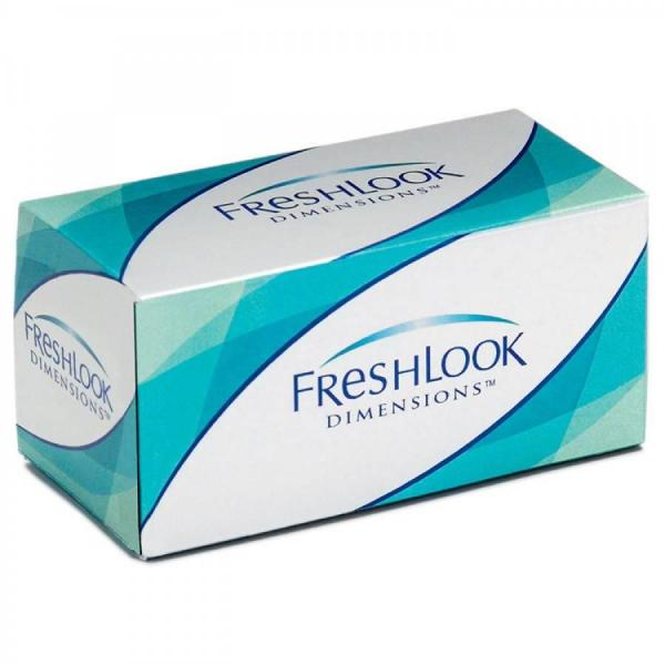 Alcon / Ciba Vision Freshlook Dimensions | colored contact lenses - monthly - 30 wears (6 lenses / box)
