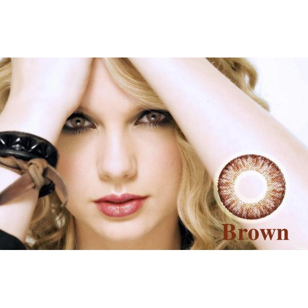 Alcon / Ciba Vision Freshlook Colorblends Brown - monthly brown colored contact lenses - 30 wears (2 lenses / box)
