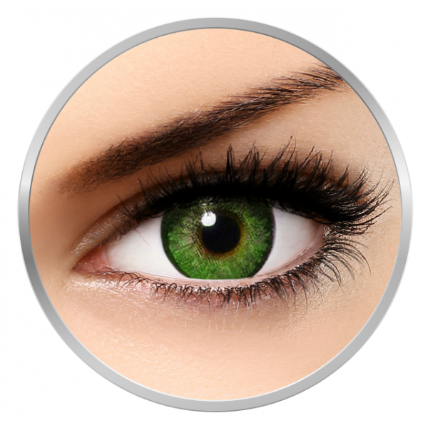Alcon / Ciba Vision Freshlook Dimensions Sea Green - monthly green colored contact lenses - 30 wears (2 lenses / box)