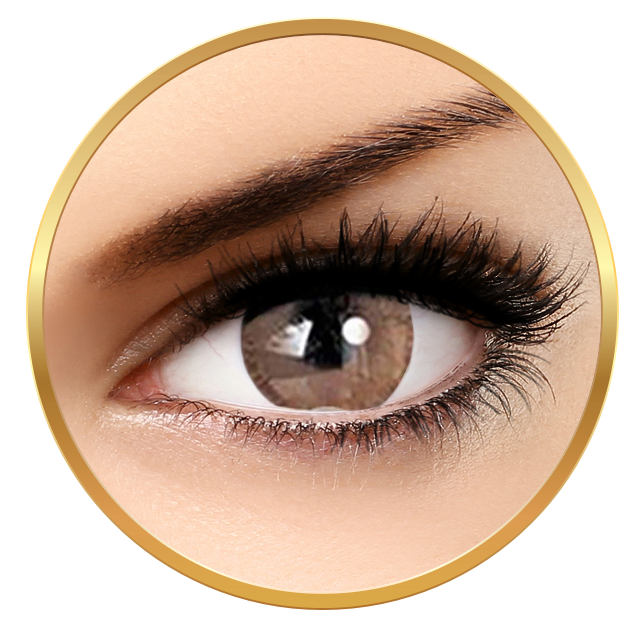 Adore Bi Tone Hazel - colored contact lenses on a quarterly basis - 90 wears (2 lenses / box)