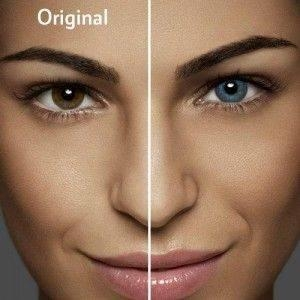 Alcon / Ciba Vision Air Optix Colors Brilliant Blue - colored contact lenses blue - monthly - 30 wears (2 lenses / box)