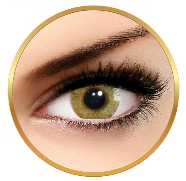 Solotica Hidrocor Avela Caprui - Brown Contact Lenses yearly - 365 wears (2 lenses/box)