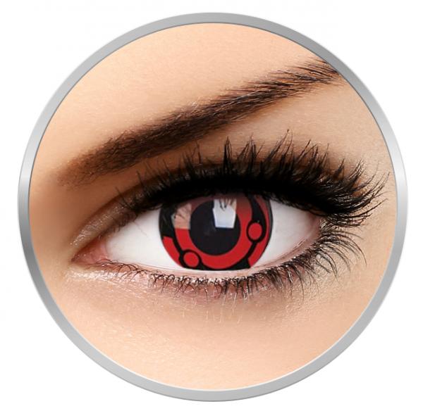 Phantasee Fancy Madara - Red/Black Contact Lenses yearly - 360 wears (2 lenses/box)
