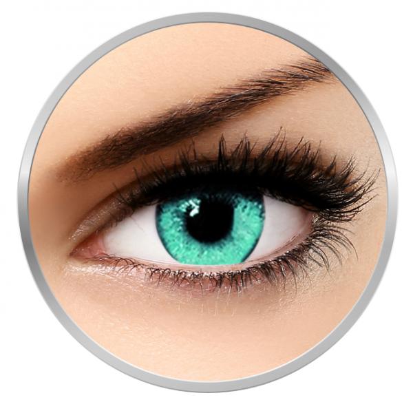 Soleko Queen's Solitaire Acqua - Blue Contact Lenses quarterly - 90 wears (2 lenses/box)