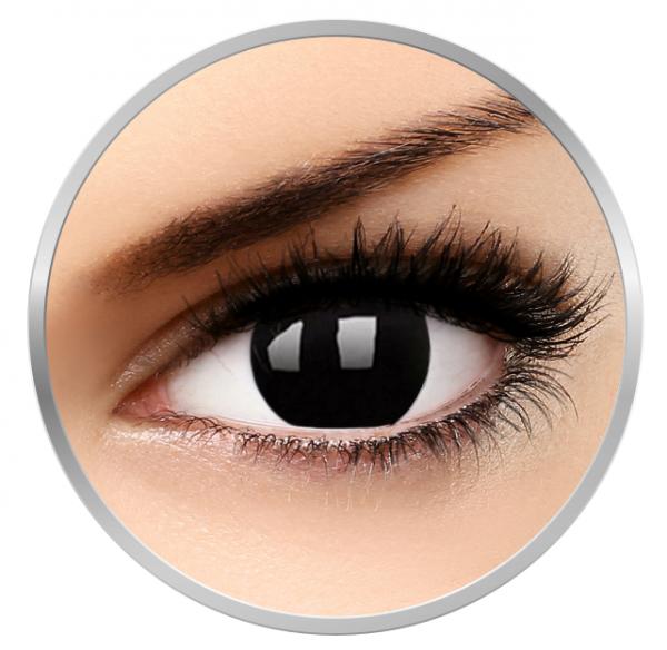 Phantasee Fancy Dark Side - Dark Contact Lenses yearly - 360 wears (2 lenses/box)