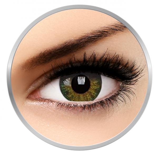 Phantasee Natural Green - Green Contact Lenses quarterly - 90 wears (2 lenses/box)