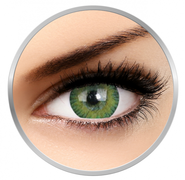 MaxVue Vision 3Tones Green - Toric contact lenses for Astigmatism - quarterly - 90 wears (1 lens / box)