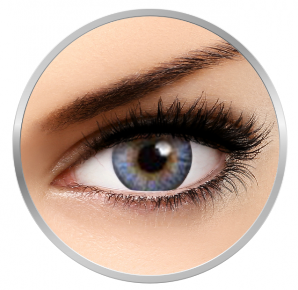 MaxVue Vision Flash Fairy Alice Blue - Blue Colored Contact Lenses - 30 wears (2 lenses / box)