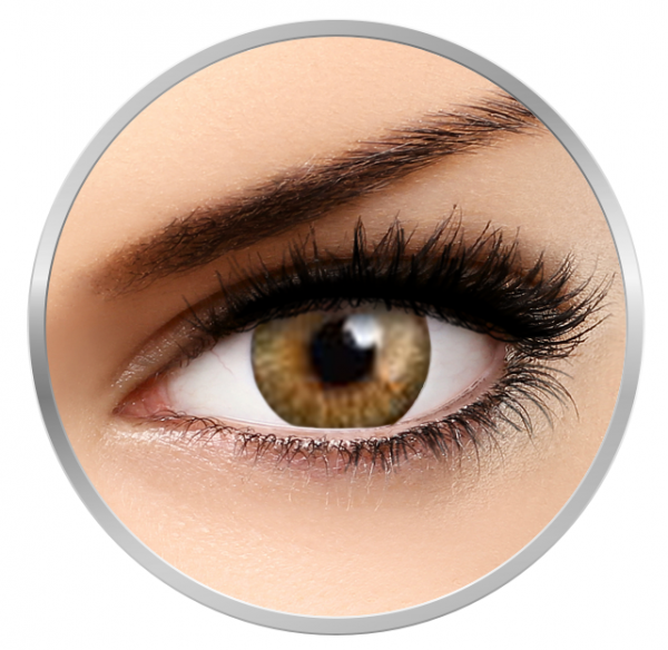 MaxVue Vision Flash Fairy Juliet Brown - Brown Colored Contact Lenses - 30 wears (2 lenses / box)