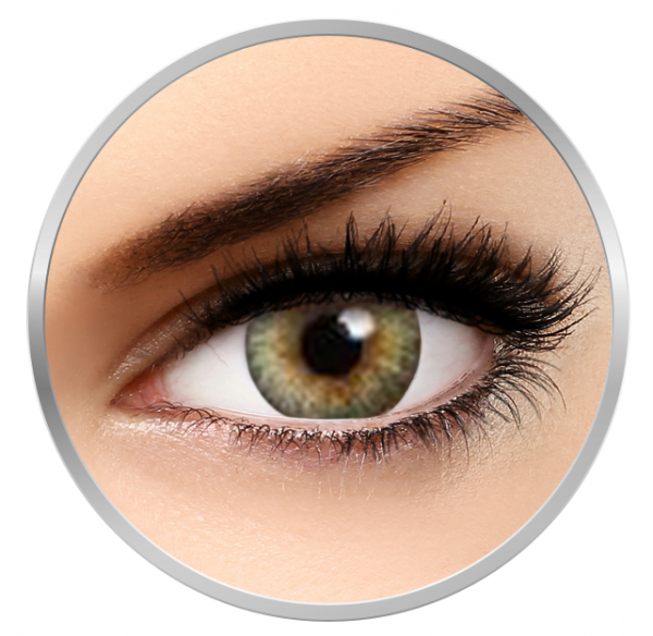 MaxVue Vision Flash Fairy Tiana Green - Green Contact Lenses - 30 wears (2 lenses / box)