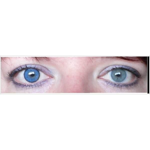 Bausch & Lomb Soflens Natural Colors Topaz - monthly topaz colored contact lenses - 30 wears (2 lenses / box)