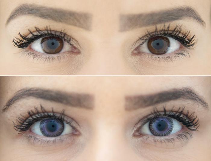 ZenVu Blended Grey/Violet - Grey/Violet Contact Lenses quarterly - 90 wears (2 lenses/box)