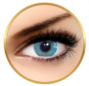 Solotica Hidrocor Azul - Blue Contact Lenses yearly- 365 wears (2 lenses/box)