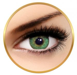 Solotica Solflex Natural Colors Esmeralda - Green Contact Lenses monthly - 30 wears (2 lenses/box)