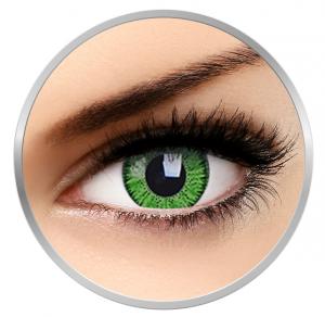 Phantasee Vivid Green - Green Contact Lenses quarterly - 90 wears (2 lenses/box)