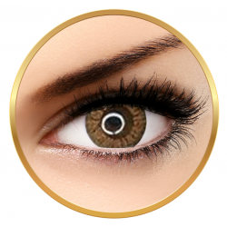 Adore Crystal Hazel - colored contact lenses on a quarterly basis - 90 wears (2 lenses / box)