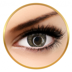 Adore Crystal Light Grey- colored contact lenses on a quarterly basis - 90 wears (2 lenses / box)
