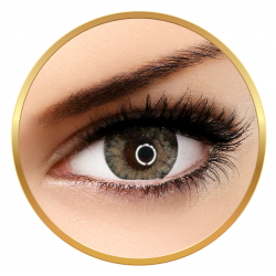 Adore Crystal White - colored contact lenses on a quarterly basis - 90 wears (2 lenses / box)