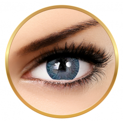 Adore Tri Tone Blue - colored contact lenses on a quarterly basis - 90 wears (2 lenses / box)
